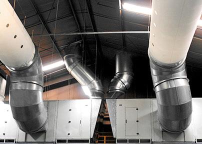 industria automotriz ventilacion