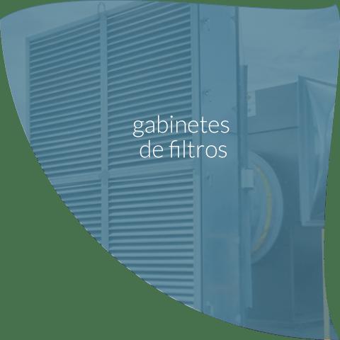 gabinete de filtros para ventilación industrial