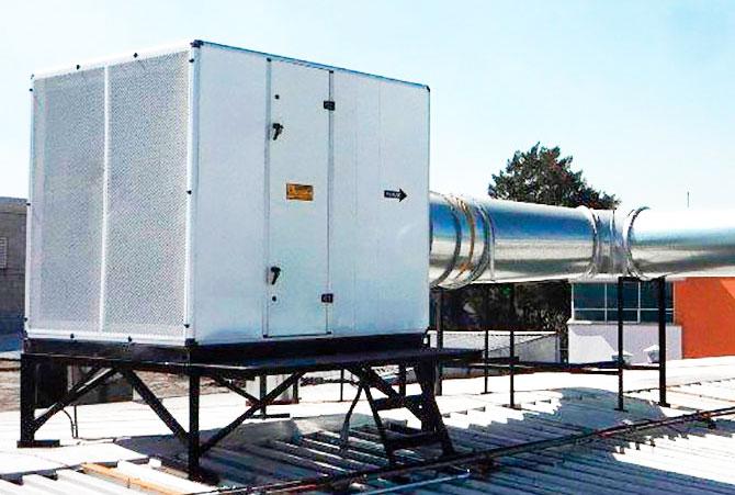 unidad manejadora de aire