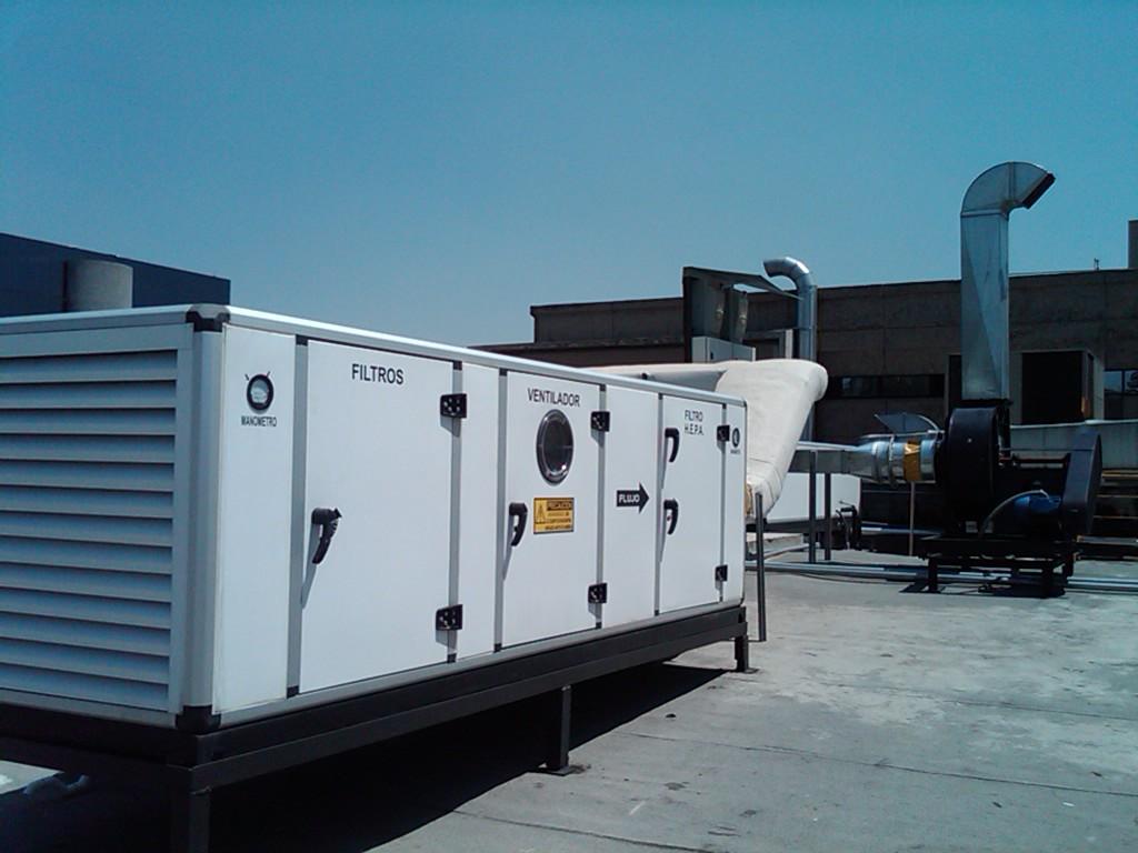 sistema de ventilacion de naves industriales