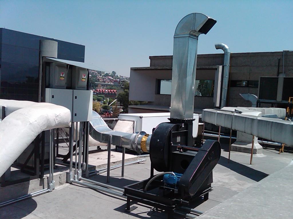 sistema de ventilacion para naves industriales